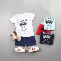 [ Original import ] Setelan baju kaos anak laki / pakaian anak cowok