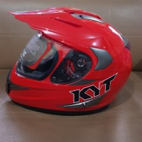 HELM KYT ENDURO SOLID RED