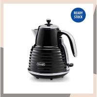 DELONGHI Electric Kettle Teko LIstrik 1.5 Liter no Coffee Maker Oxone