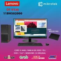 """PC DESKTOP LENOVO V530-11BHS02000/2000 i5-9400 8GB 1TB DVD 19.5"""" WIN10"""