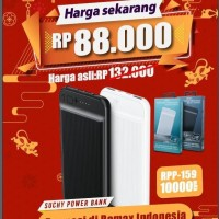 Powerbank remax 10000mah