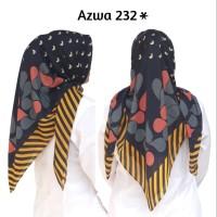 AZWA 232*/Segiempat Voal Motif/ Deenay KW
