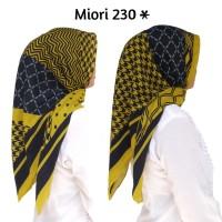 MIORI 230*/ Segiempat Voal Motif/ Deenay KW