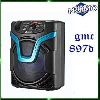 Speaker Subwoofer Bluetooth New GMC-897D-C Wireless Portabel