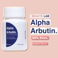 Alpha Arbutin Powder 10 Gram - Memutihkan Kulit & Bintik Hitam - USP