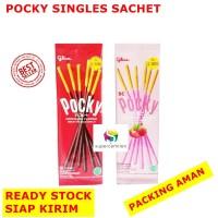 Pocky Singles Sachet - Pocky Kemasan Ekonomis Cocok Untuk Bekal / Gift