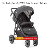 Baby Stroller Meet Joie MYTRAX Single - Pavement - Dark grey