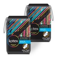 Kotex Ultrathins Wings 12 pcs