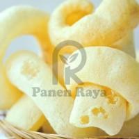 HOT SALE Krupuk Rambak Sapi Stik PR 100gr Keripik Kulit Siap Makan
