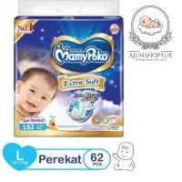 Mamypoko Extra Dry Tape L62 / L 62 Tipe Perekat
