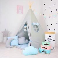 Tenda Teepee Tent Indian Anak Plus Matras - TPT 020