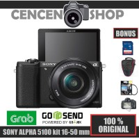 FREE++| SONY alpha ILCE-A5100 kit 16-50mm kamera mirrorless A 5100
