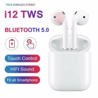New Upgrade Top Configuration i12 Touch TWS Bluetooth Bass Headset