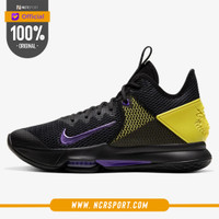 Sepatu Basket Nike Lebron Witness 4 EP Black Lakers Original CD0188-00