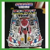 Promo Kaos Motor Honda Beat Look Style Racing Thailook Custom Distro