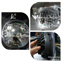 Lampu Daymaker Predator 7 Inchi - Lampu Daymaker Harley Jeep pip les