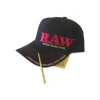 Raw cap atau topi raw
