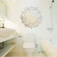 Limited - Stiker Cermin 3D 3 Dimensi Dekorasi Hias Dinding Kamar Man