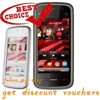 Borong 【FREE SHIPPING】Nokia 5233 Smartphone Layar Sentuh 3.2