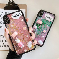 SALE Hard Case Motif Cairan Quicksand untuk oppo f1s F3 F5 Youth F7