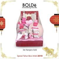 Promo BOLDe Super Pan Hampers Set Gold Diskon