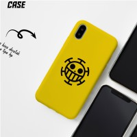 One Piece Yellow CASE iPhone 4 4S 5 5S SE 6 6S 7 8 X XR XS MAX PLUS