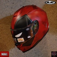 HJC IS-17 Marvel Limited Edition - Deadpool