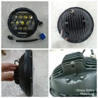 Lampu Daymaker 7 Inchi - Lampu Daymaker Harley - Lampu Jeep Fil CBU
