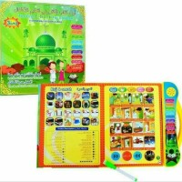 Mainan Anak Edukasi Playpad E book Buku Pintar Muslim 3 Bahasa murah