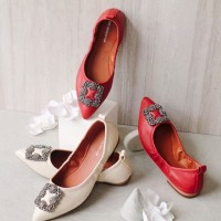 GIO SAVERINO FLAT SHOES BALLERINA