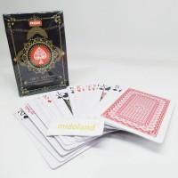 set Kartu permainan remi poker anti air waterproof plastik pvc card