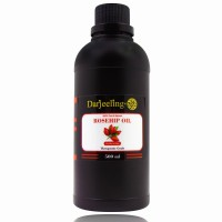 500ml Virgin Rosehip Oil Cold Pressed | Minyak Biji Mawar Carrier Oil