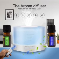 500ml Diffuser Humidifier Starter Kit Bonus 2 x 5ml Essential Oil