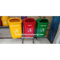 Tempat Sampah 3 In 1 Bahan Fiberglass B3