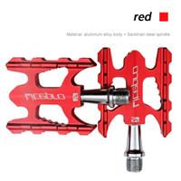 Pedal Litepro K3 Merah mungil nn store sepeda gowes