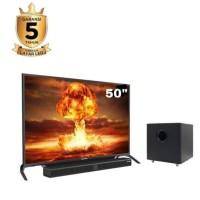 POLYTRON 50 Inch Cinemax Soundbar LED Full HD TV PLD-50B880