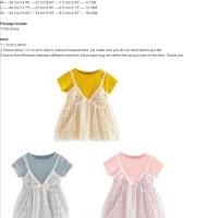 Dress Lace Korea Anak size 2 tahun