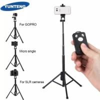 Tongsis Tripod 2in1 Yunteng VCT-1688 Remote Shutter Bluetooth
