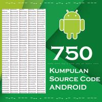 750 Source Code Program Aplikasi Android ( ALL PART )