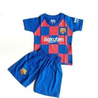 Jersey Kids Barcelona Home Setelan Bola Bayi