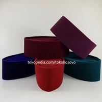 Peci Songkok Kopiah Merah, Maroon, Biru, Ungu HAJI ALAY AC Tinggi 9,10