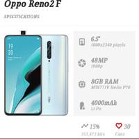 HP OPPO RENO 2F RAM 8/128GB HP RENO 2F ROM 8/128GB GARANSI RESMI OPPO