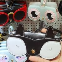 case kacamata kekinian / tempat kacamata /sunglass case bag charm