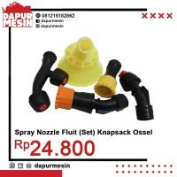 Sprayer Nozzle Fluit Semprot Hama / Knapsack