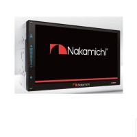head unit double din deckless nakamichi NA 3101i