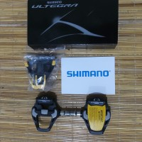 Pedal Cleat Sepeda Roadbike Shimano Ultegra PD R8000 Carbon with Cleat