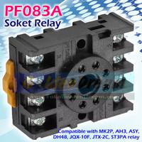 Soket Relay PF083A 8 pin for MK2P AH3 ASY DH48 JQX-10F JTX-2C ST3PA