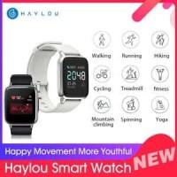 Jam Tangan Xiaomi Haylou Smart Watch 1.3in free screen protector