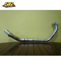 header leheran knalpot racing suzuki gsx150r gsx150s cbr150r cb150r