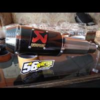 knalpot racing akrapovic lorenzo R15 Vixion Byson mx mxking cbr CB150R